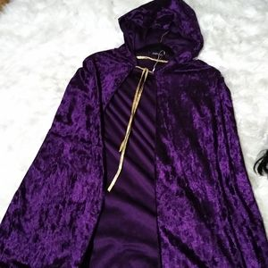 Purple Adult size cape!